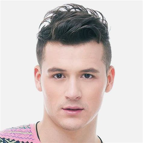Hairstyles Sides Medium Top by Mens Hairstyles On Sides Medium On Top More Picture