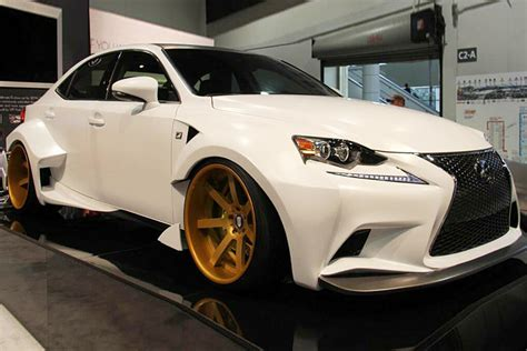 lexus rcf widebody widebody is350 at sema lexus rc350 rcf forum