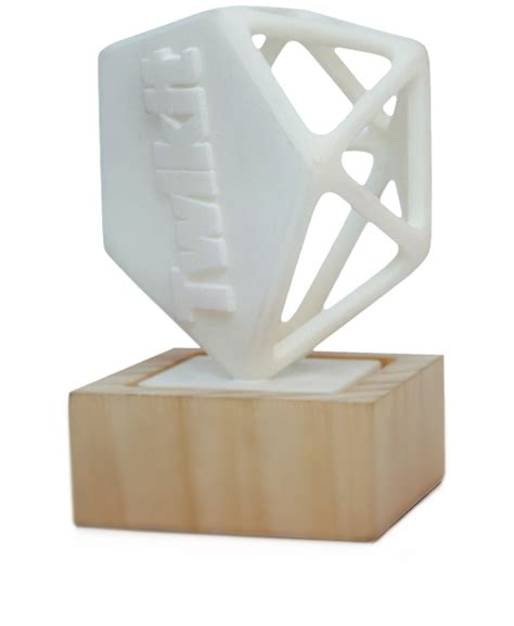 Custom 3d Print Trophy belgium based twikit corners market for custom 3d printed trophies science and technology