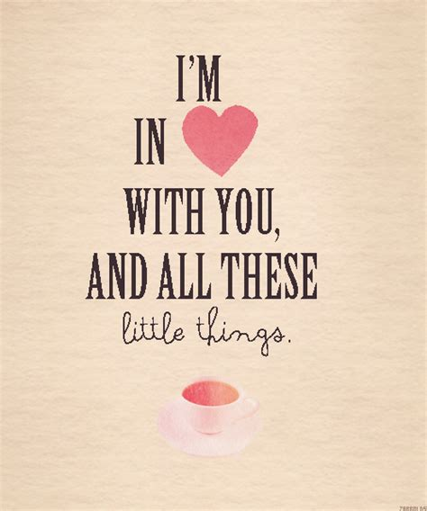 little things little things lyrics