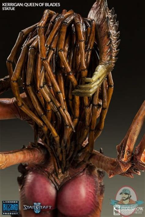 amazing life sized starcraft queen of blades statue photo starcraft queen of blades kerrigan polystone statue