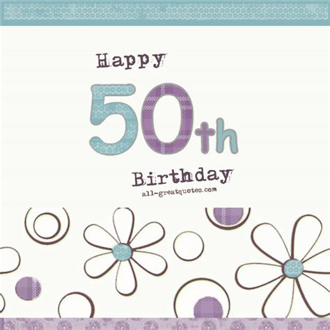 happy 50th birthday card template quotescom 65th birthday quotesgram
