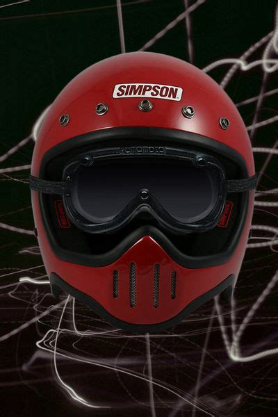 Helm M50 m50 helmet cafe racer helmets