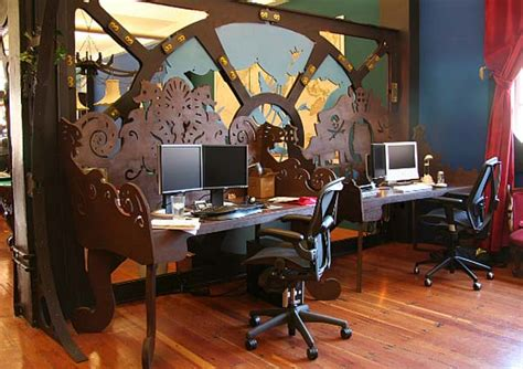 house design games steam steunk themed office space for three rings design office