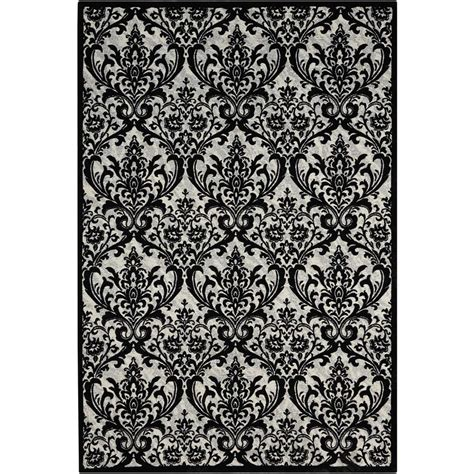 Damask Area Rug Black And White by Damask Area Rug Black And White Gallery Of Surya Cos Area