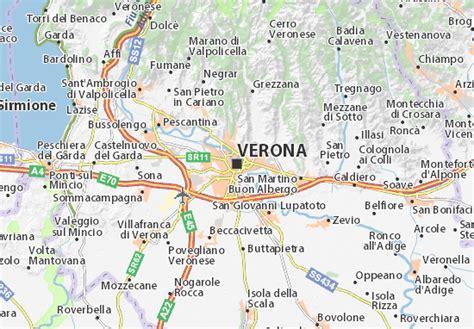 d italia verona mappa verona cartina verona viamichelin
