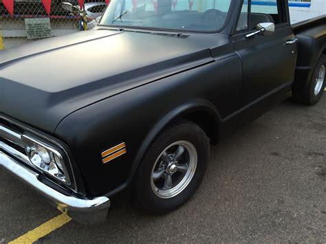 Flat Black classic chevy truck with flat black paint joe s stereo