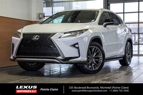 2019 Lexus Rx 350 by Used 2019 Lexus Rx 350 F Sport Serie 2 Awd Navigation