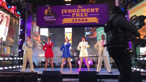 new year stage uso show troupe performing salute in times square