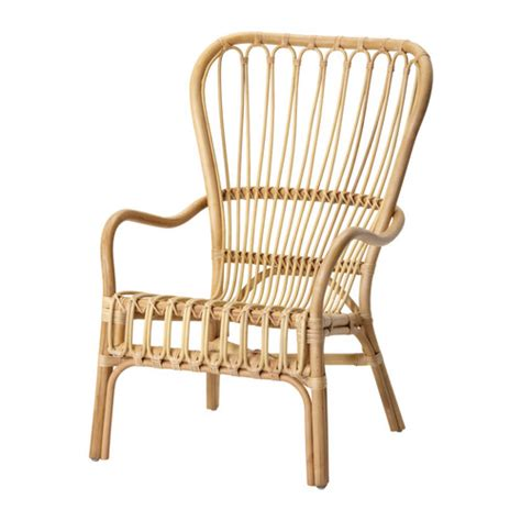 Rattan Loveseat Ikea Storsele Rattan Chair In Black Or Natural Accent