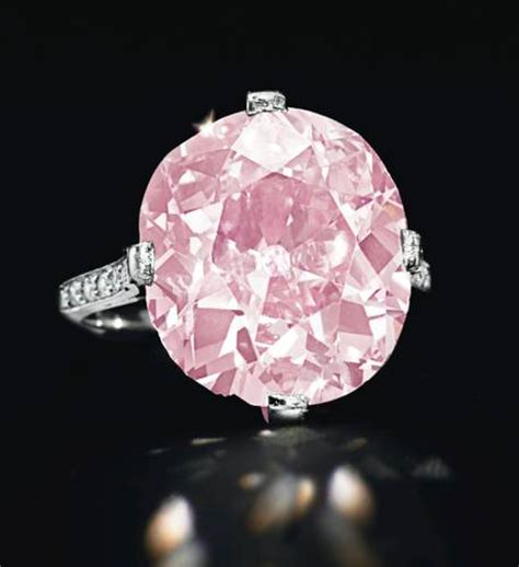 The Most Expensive Pink Diamond In The World