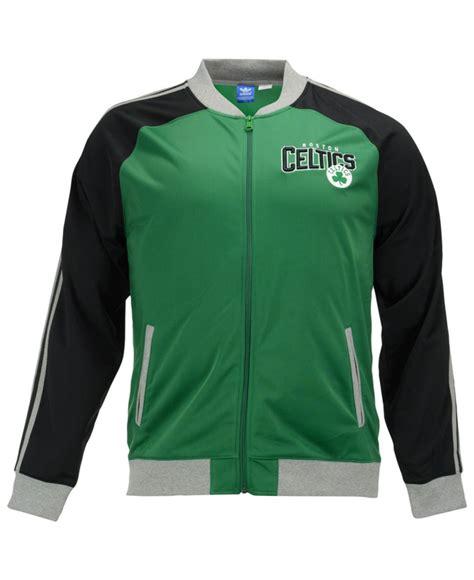 Jaket Celtic Go Lyst Adidas S Boston Celtics Originals Track Jacket