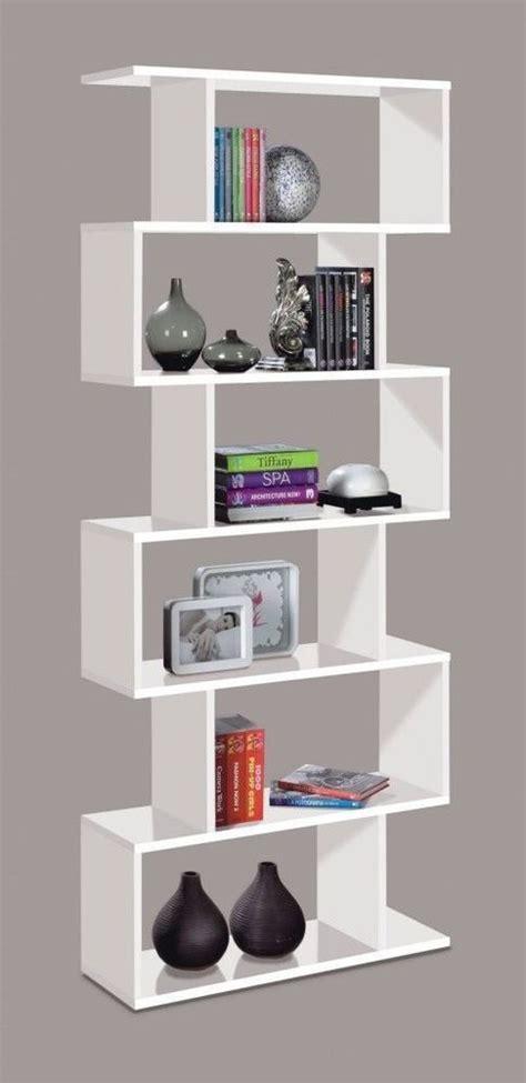 Anya Living Divider Rak Bookcase ciara living room 6 tier bookcase room divider display shelf unit white ebay