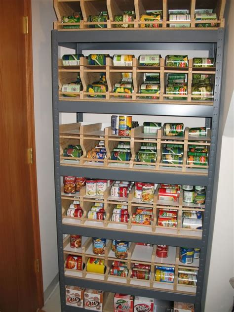 Pantry Organizers For Canned Foods by 25 Best Ideas About Canned Food Storage On