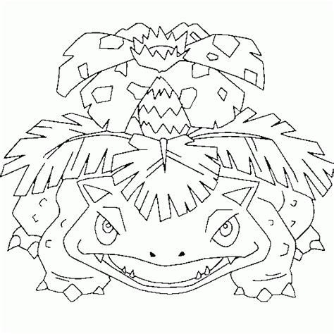 pokemon coloring pages venusaur pokemon coloring venusaur free pokemon coloring page