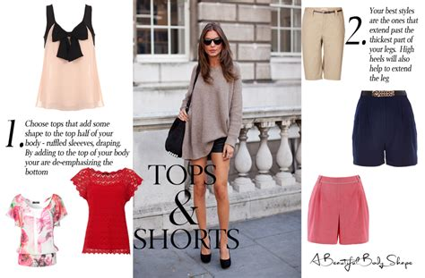 best clothing styles for pear shaped women pear shaped body tops and shorts style guide image a