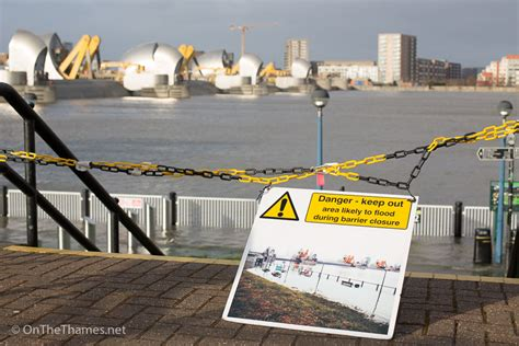 thames barrier tide times storm eleanor forces thames barrier closure on the thames
