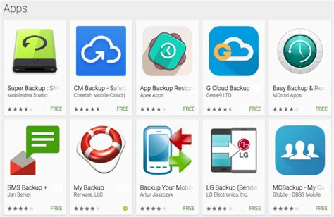 Play Store Backup How To Back Up Your Android Phone