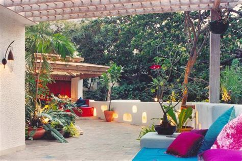 Indian Garden Design Open Terrace Design Ideas