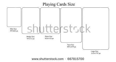 tarot card size template stock images royalty free images vectors