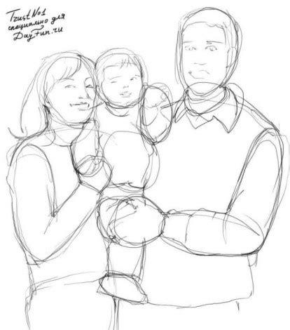 как намалювати маму