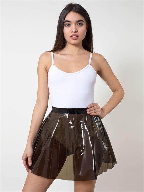 Cloein Dress clear pvc circle skirt american apparel