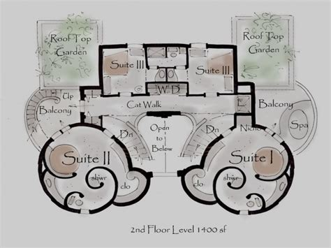 small castle house plans modern castle floor plans using stone