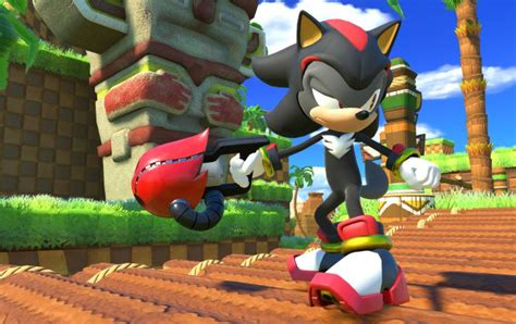 Blender National Sonic sonic forces will feature shadow the hedgehog