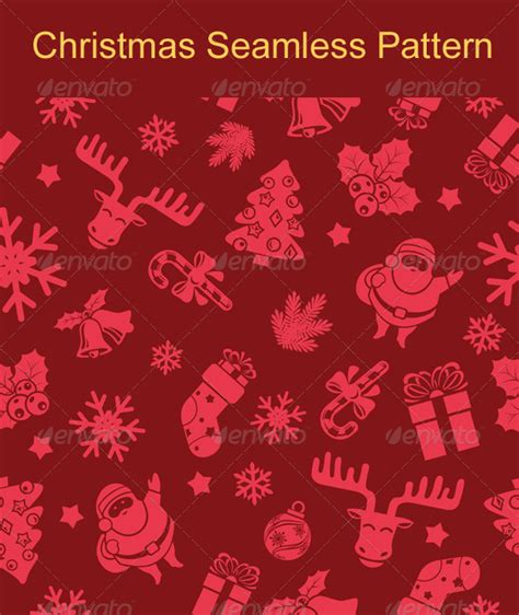 christmas pattern overlay free santa and reindeer silhouettes photoshop overlays