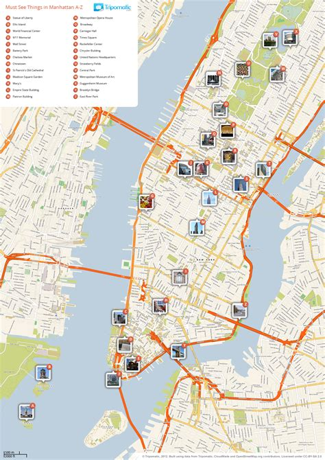 map of manhattan ny attractions file new york manhattan printable tourist attractions map