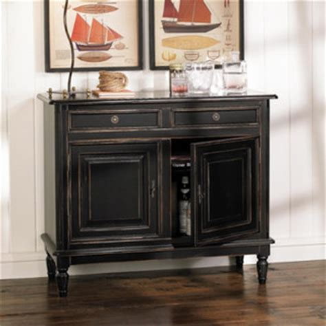 dining room accent tables dehaviland 2 drawer console traditional buffets and