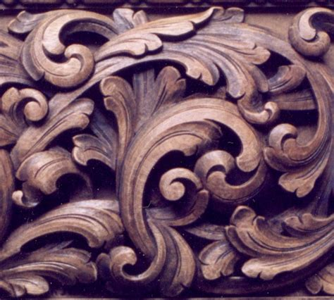 acanthusbaroque carving