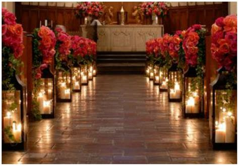 candele chiesa 20 idee per allestire la chiesa