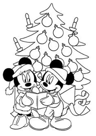 coloring pages minnie mouse christmas minnie mouse christmas coloring pages part 7