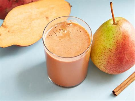 Juicer Fullset sweet potato pear cinnamon juice recipe food network