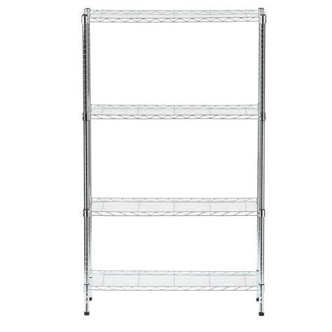 hdx 4 shelf 60 in h x 36 in w x 14 in d wire unit in