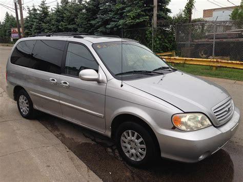 2003 kia minivan 2003 kia sedona overview cargurus