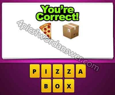 film disc letter mailbox emoji guess the emoji pizza and box 4 pics 1 word game answers