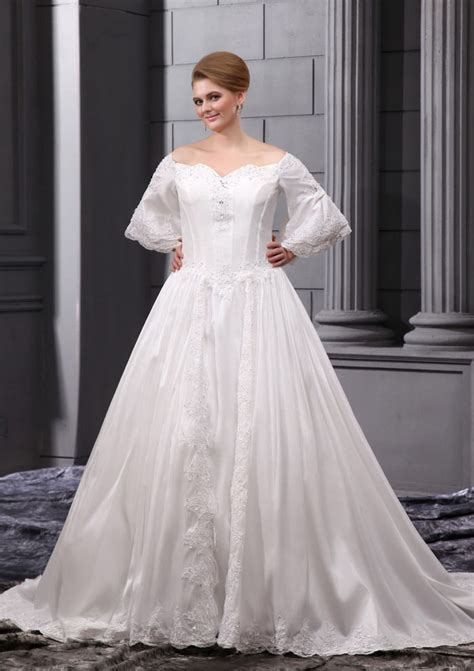 Plus Size Wedding Dresses With Sleeves by Cheap Plus Size Wedding Dresses With Sleeves Iris Gown