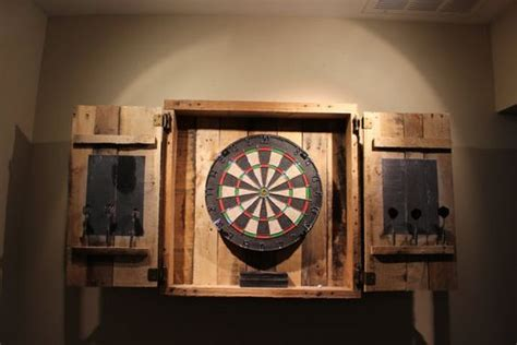 vintage dart board cabinet the world s catalog of ideas