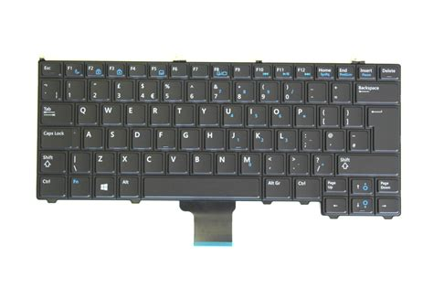 Keyboard Dell dell hc8nx latitude e7240 uk keyboard astringo