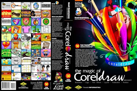 belajar layout buku the magic of coreldraw tips trik windows internet