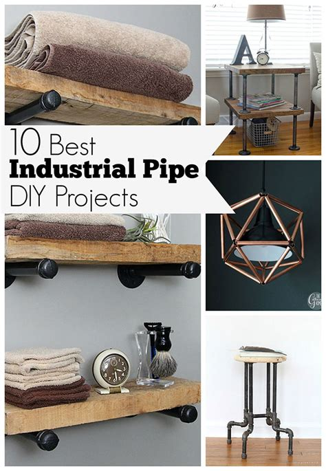 industrial diy projects 10 best diy industrial pipe projects house of hawthornes