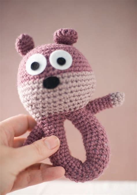 julio toys crochet patterns amigurumi 12 best images about amigurumi baby rattles on pinterest