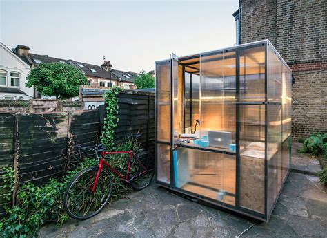 pop up tiny house this tiny and cellular pop up house in london will be a new affordable space for creatives