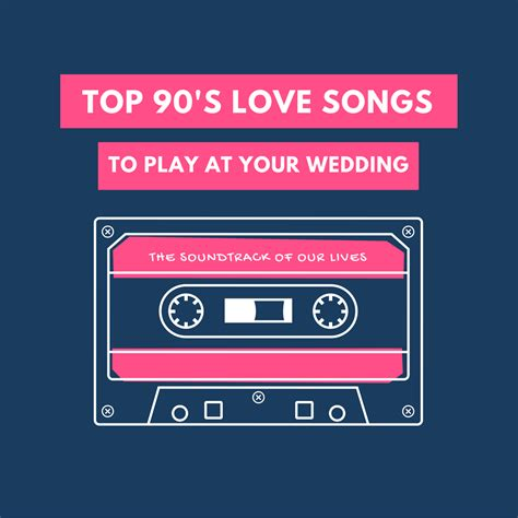 wedding song 90s top 90 s songs for your wedding playlist black tie