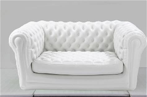canapé gonflable chesterfield canap 201 chesterfield gonflable blanc m2b gonflable