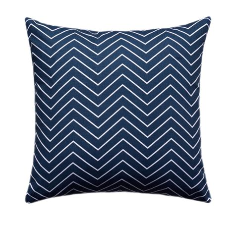 Chevron Throw Pillow Covers by Navy Chevron Throw Pillow Cover Navy And By