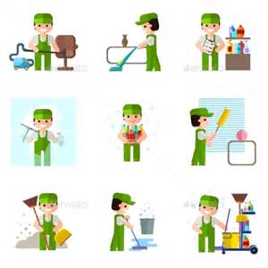 emoji for cleaning graphicriver cleaning company 10918237