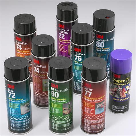 3m spray adhesive 3m aerosol adhesives industrial grade